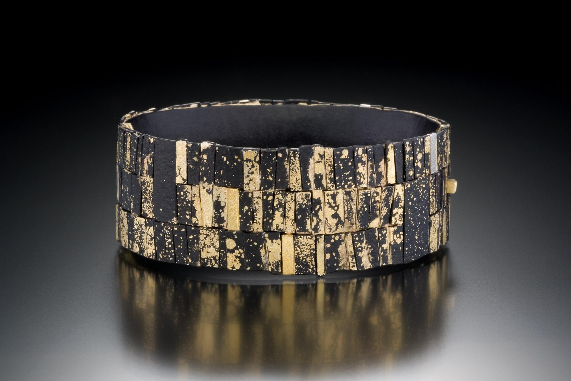 Mosaic Locking Bracelet