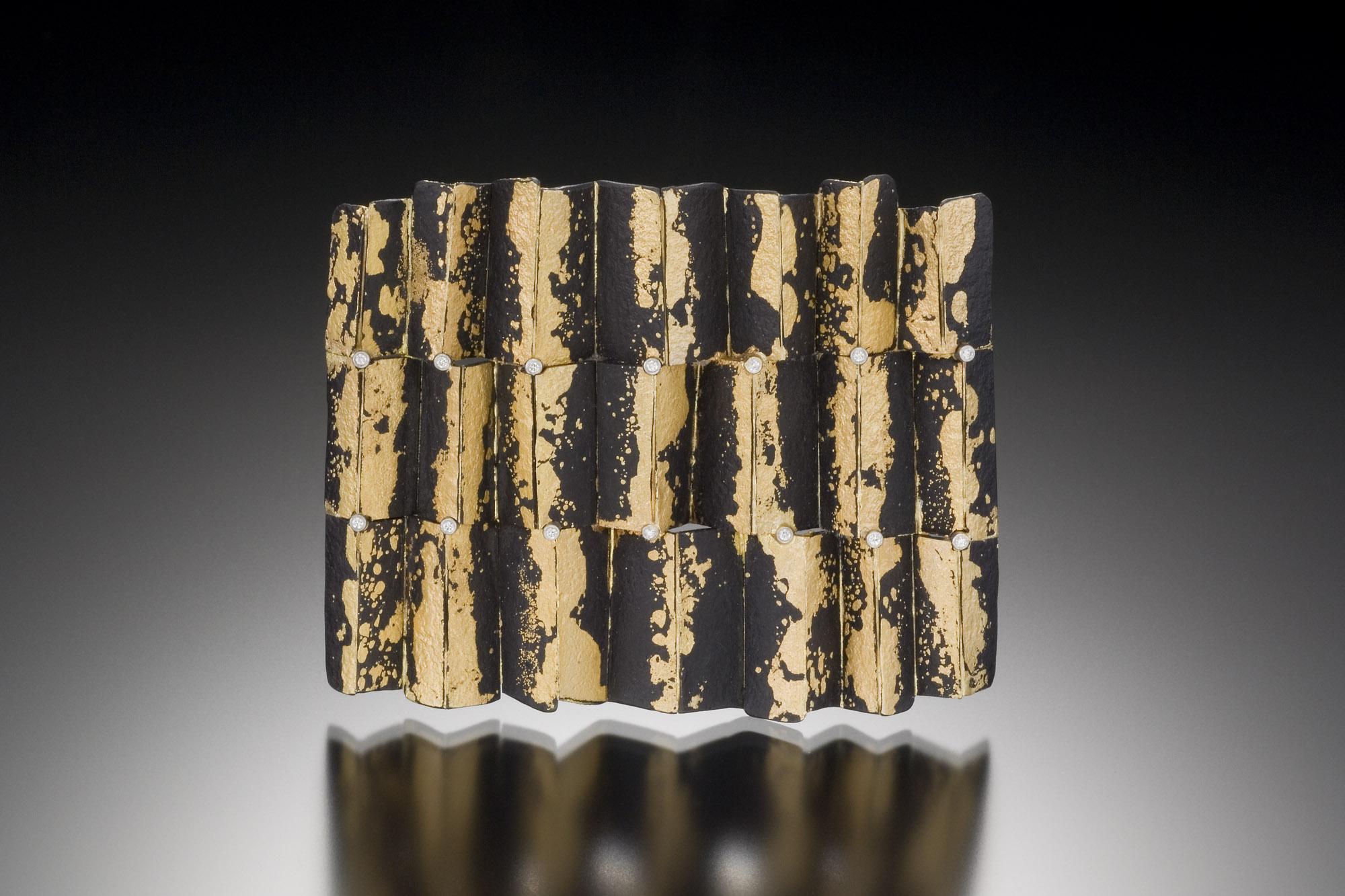 Mosaic Ripple Brooch