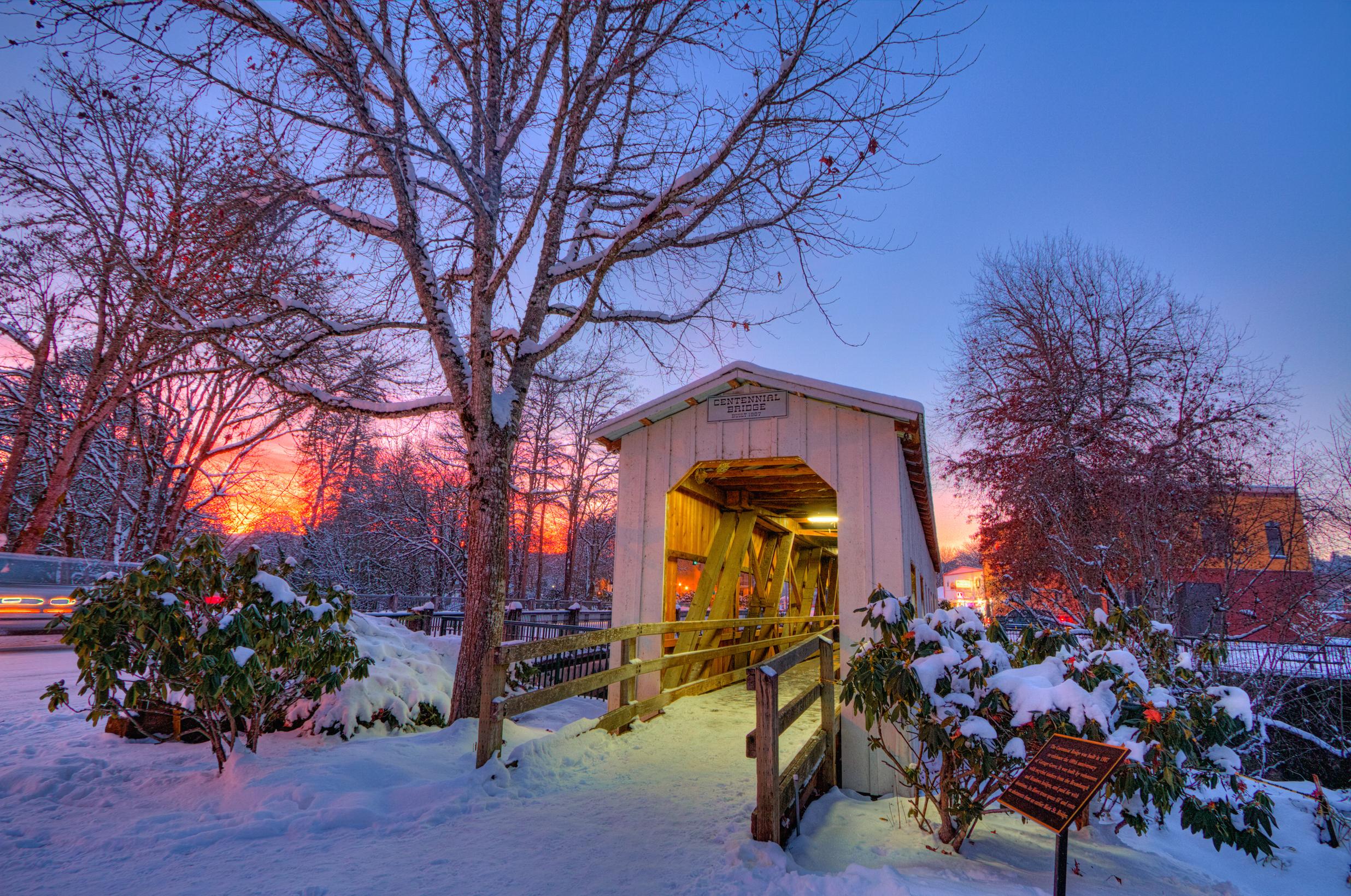 Centennial Bridge in Cottage Grove