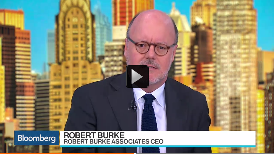 """James Fallon, editor at Women's Wear Daily, and Robert Burke, chief executive officer at Robert Burke Associates, examine the state of women's fashion and luxury brands. They speak on """"Bloomberg Surveillance."""" (Source: Bloomberg)"""