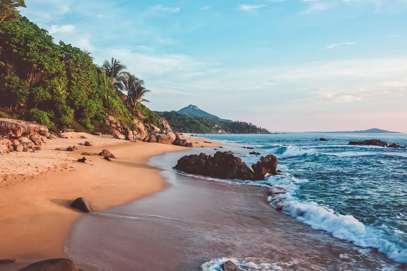 Haramara Yoga Retreat beach