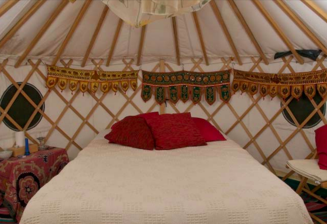 In Sabina yurt
