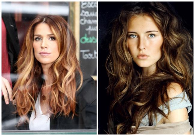 bronzed hair