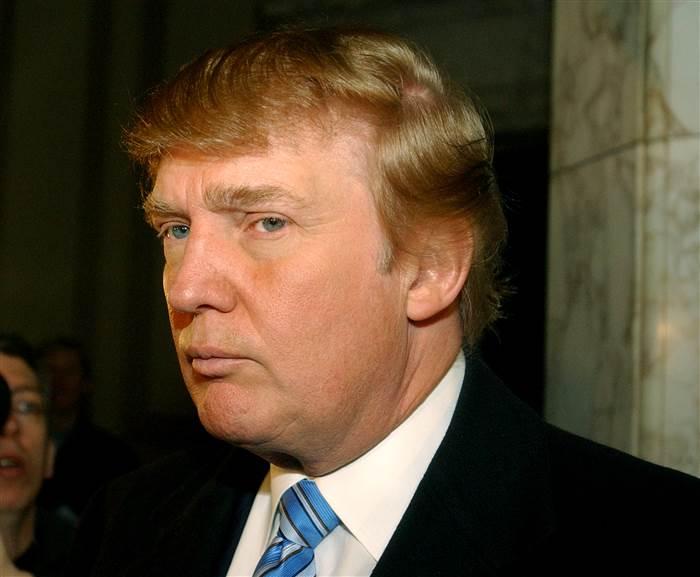 Donald Trump in 2004.