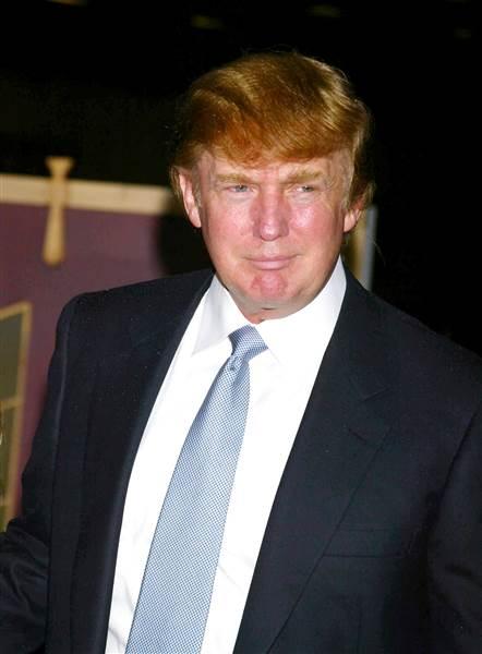 Star Max via AP Images.Donald Trump at the MTV Video Music Awards, 2002.