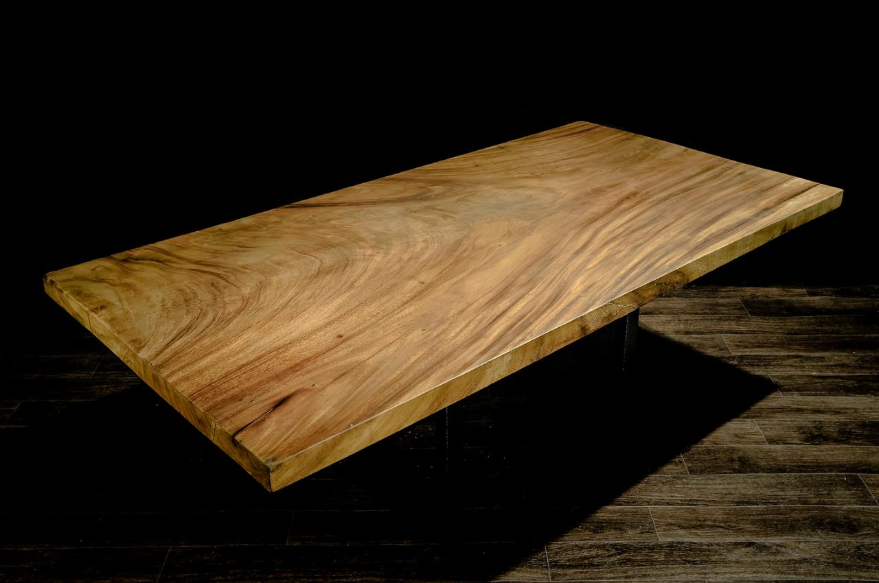SUAR PERFECT RECTANGLE  Материал: слэб дерева  суар  Размеры: 200 x100 х 6 см