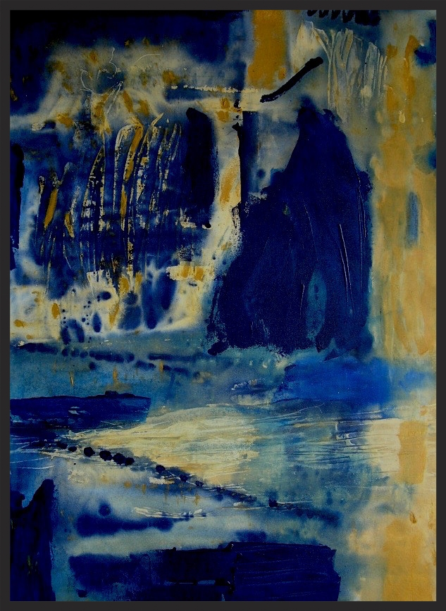 "Blue Marsh No. 4 . 48"" x 36""  Hendershot"