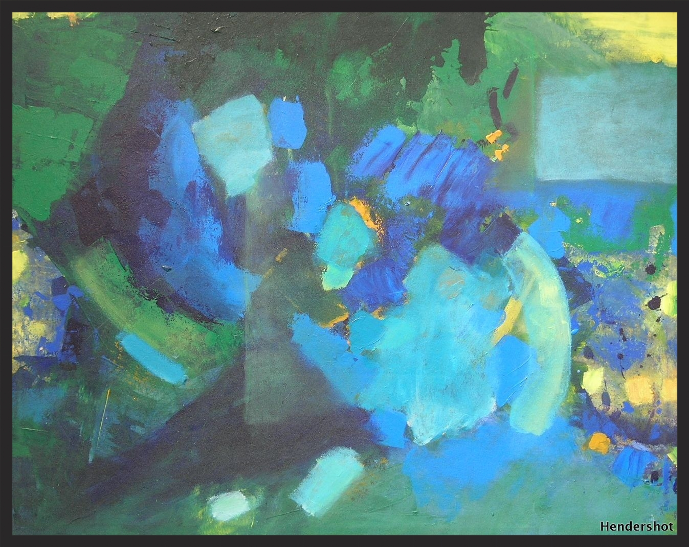 """View from Above   34"""" x 42"""""""