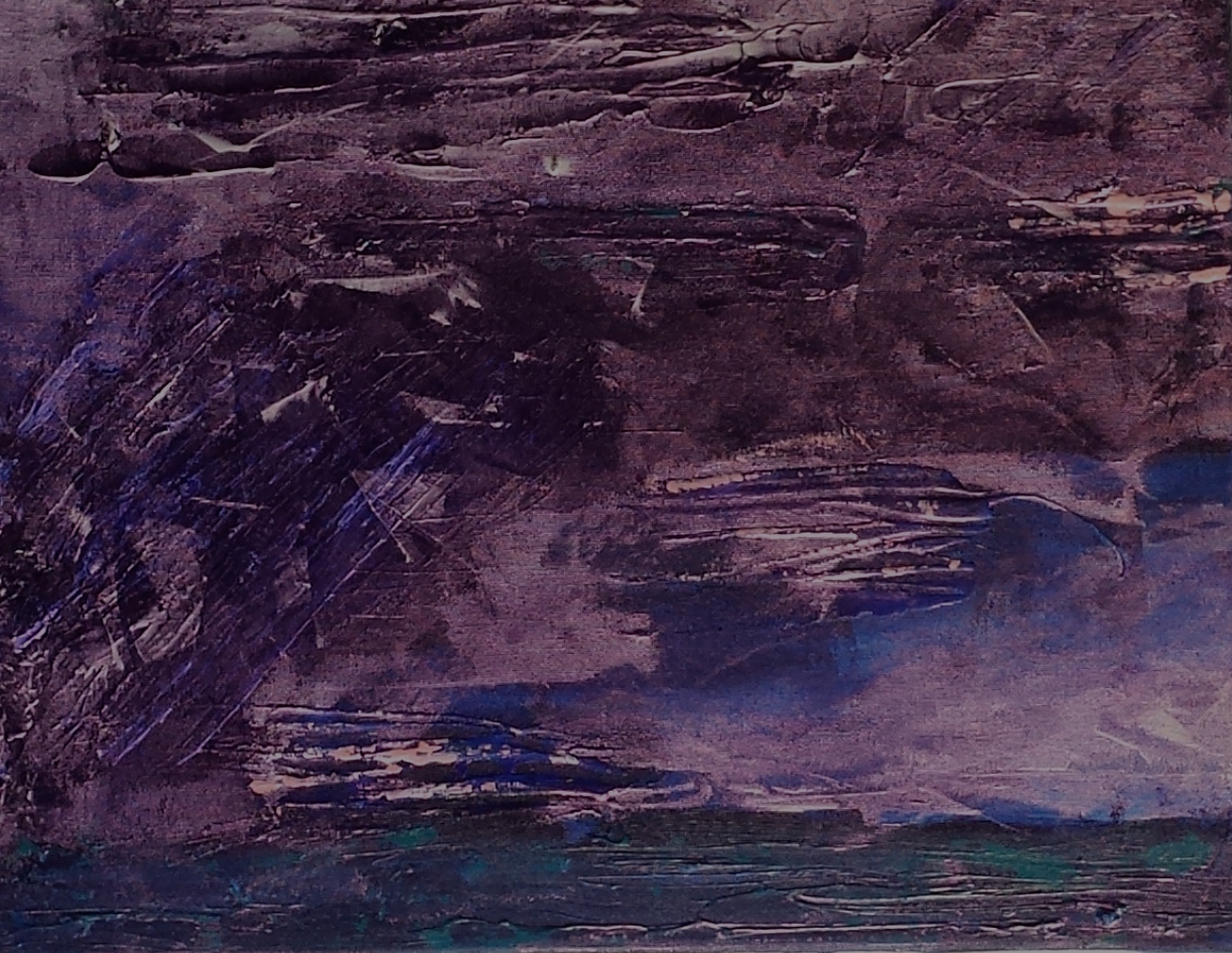 """Lake Storm No. 5    14"""" x 18"""""""