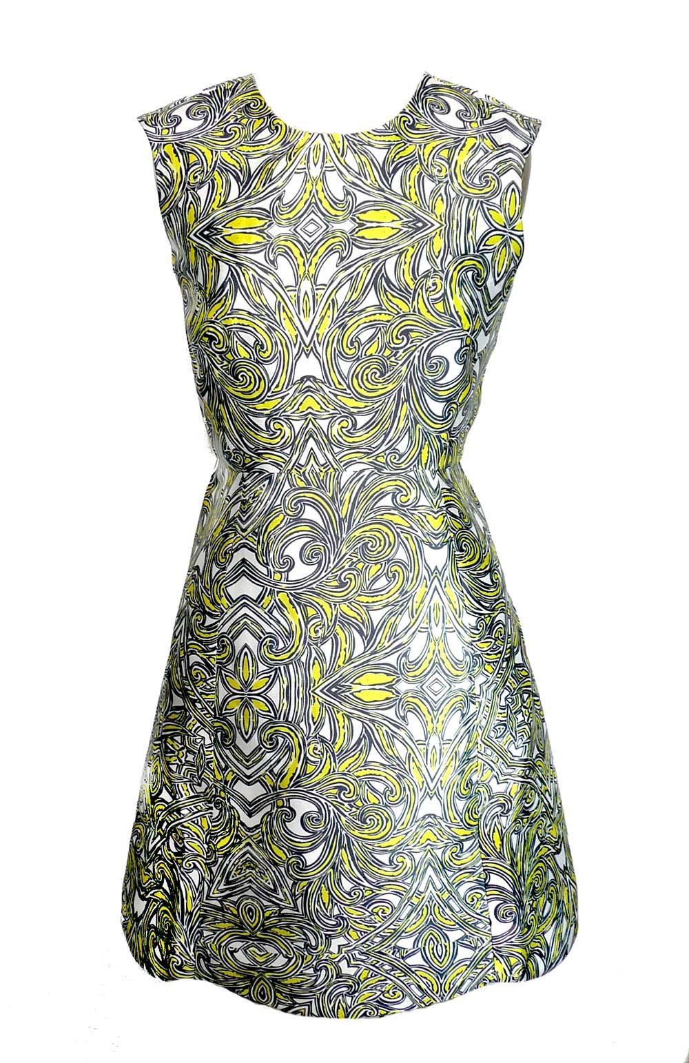 dress grn satin print.jpg