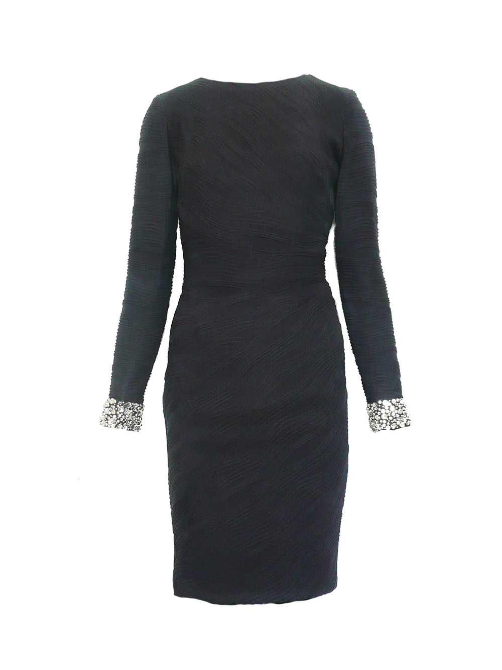 dress navy crinkle rhinstone cuff.jpg