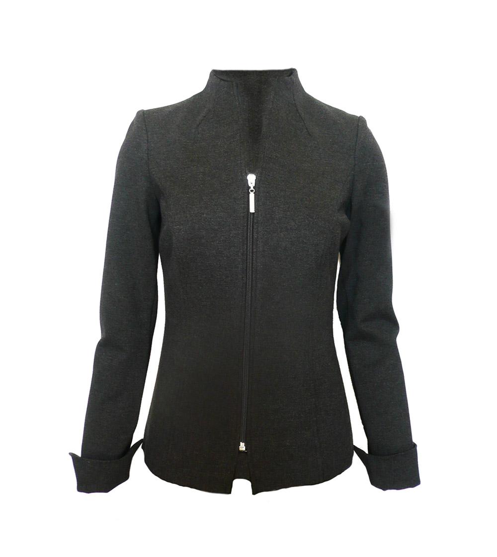 jacket grey zip ponte.jpg