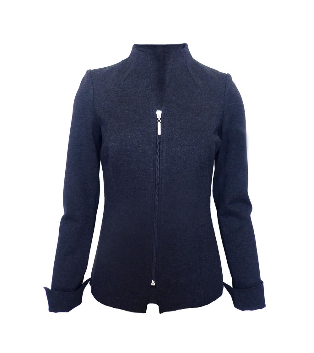 jacket navy zip ponte.jpg