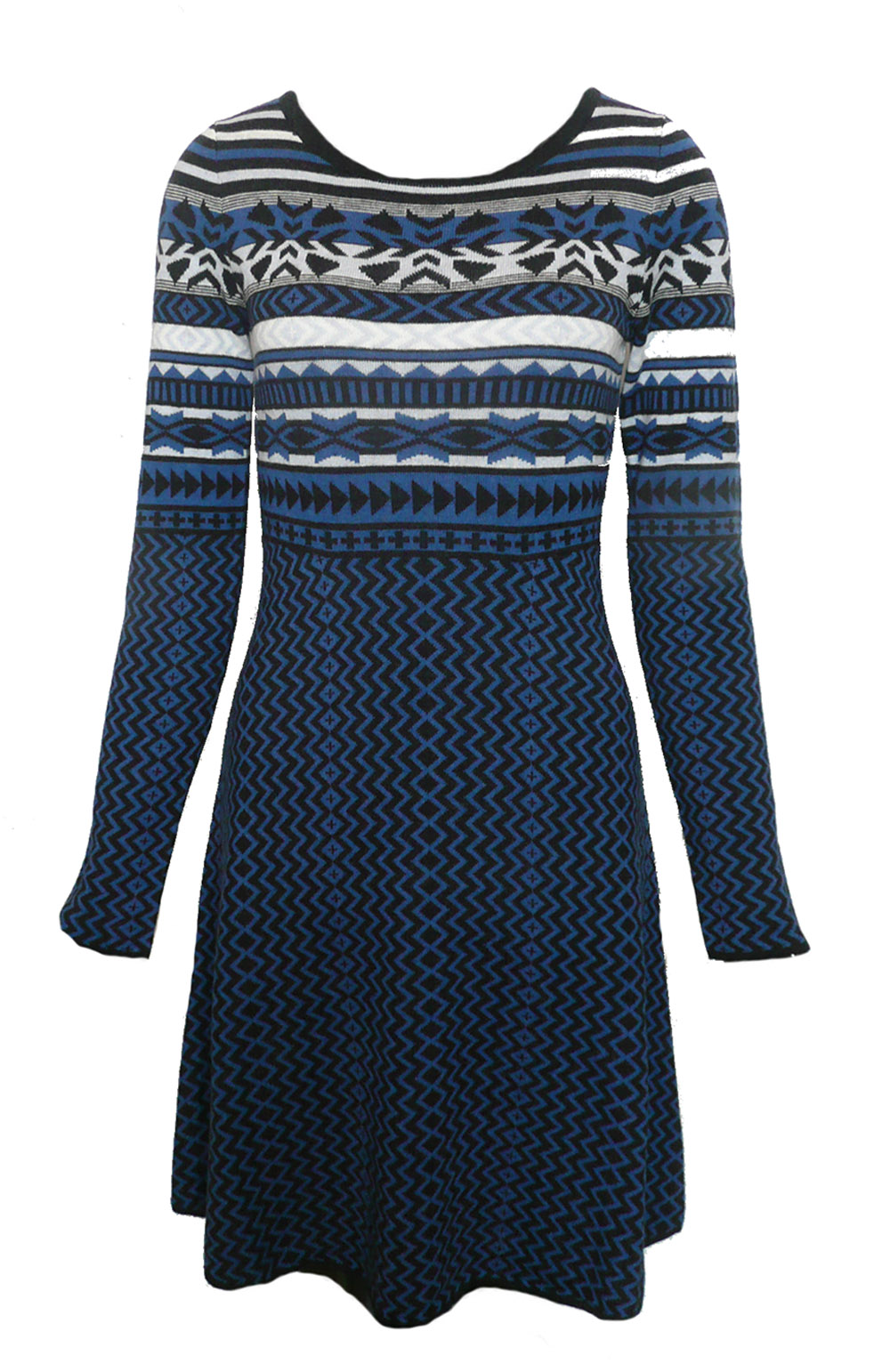dress blue pattern knit.jpg