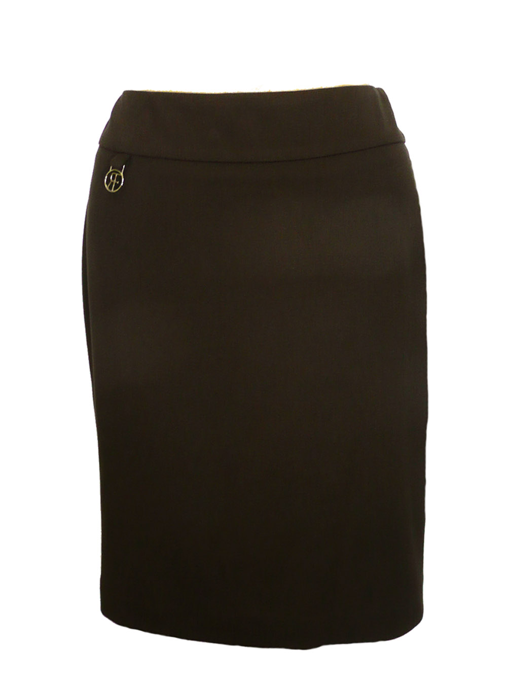 Slim brown ponte skirt  Sale $102.