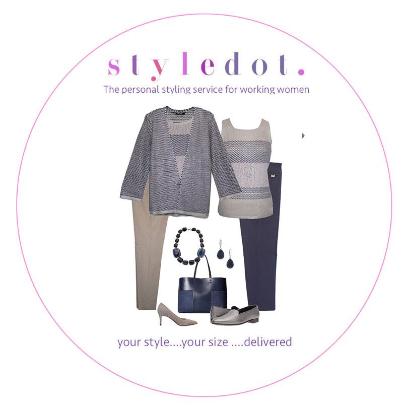 cardigan set with lisette pants -