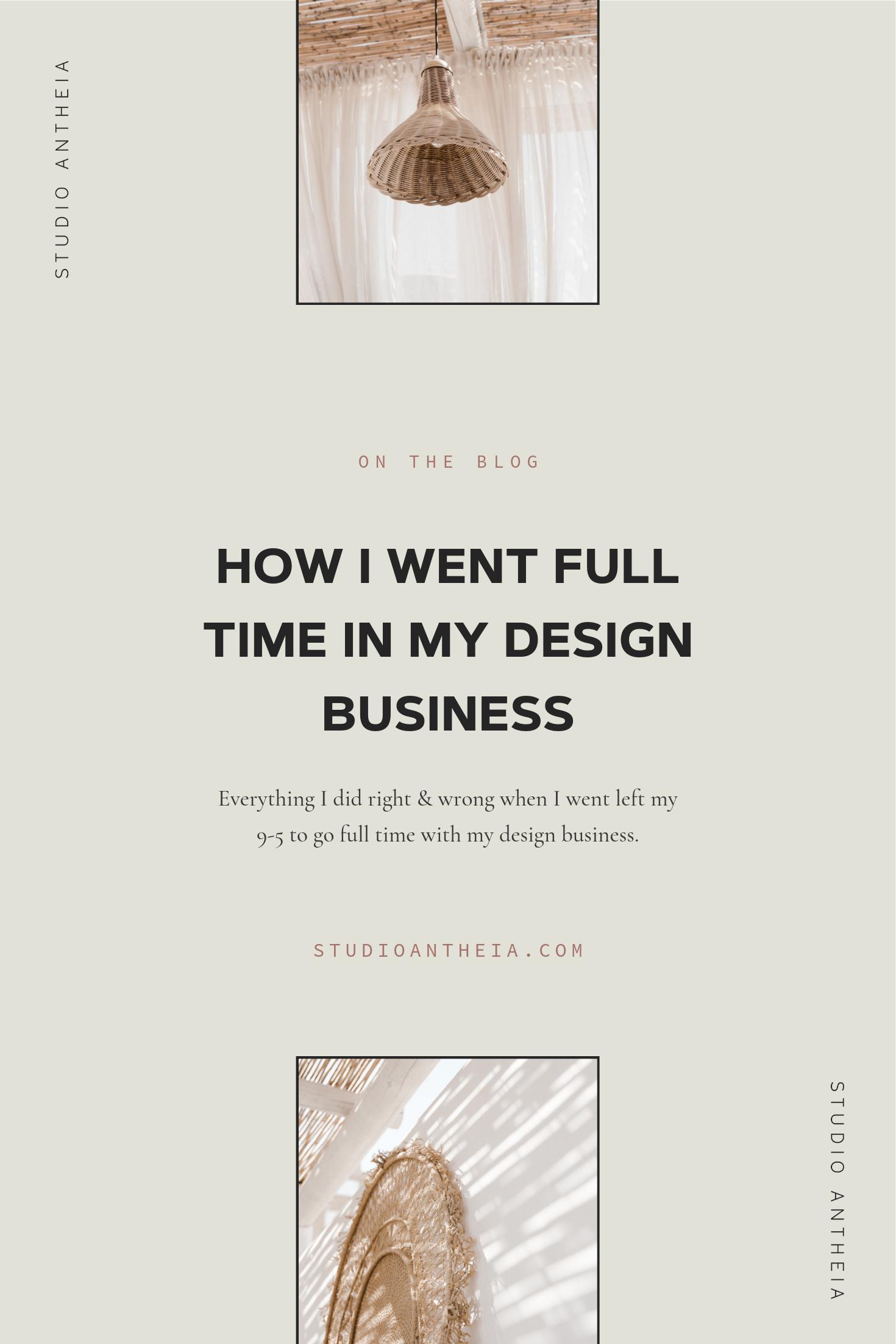 Full time freelance