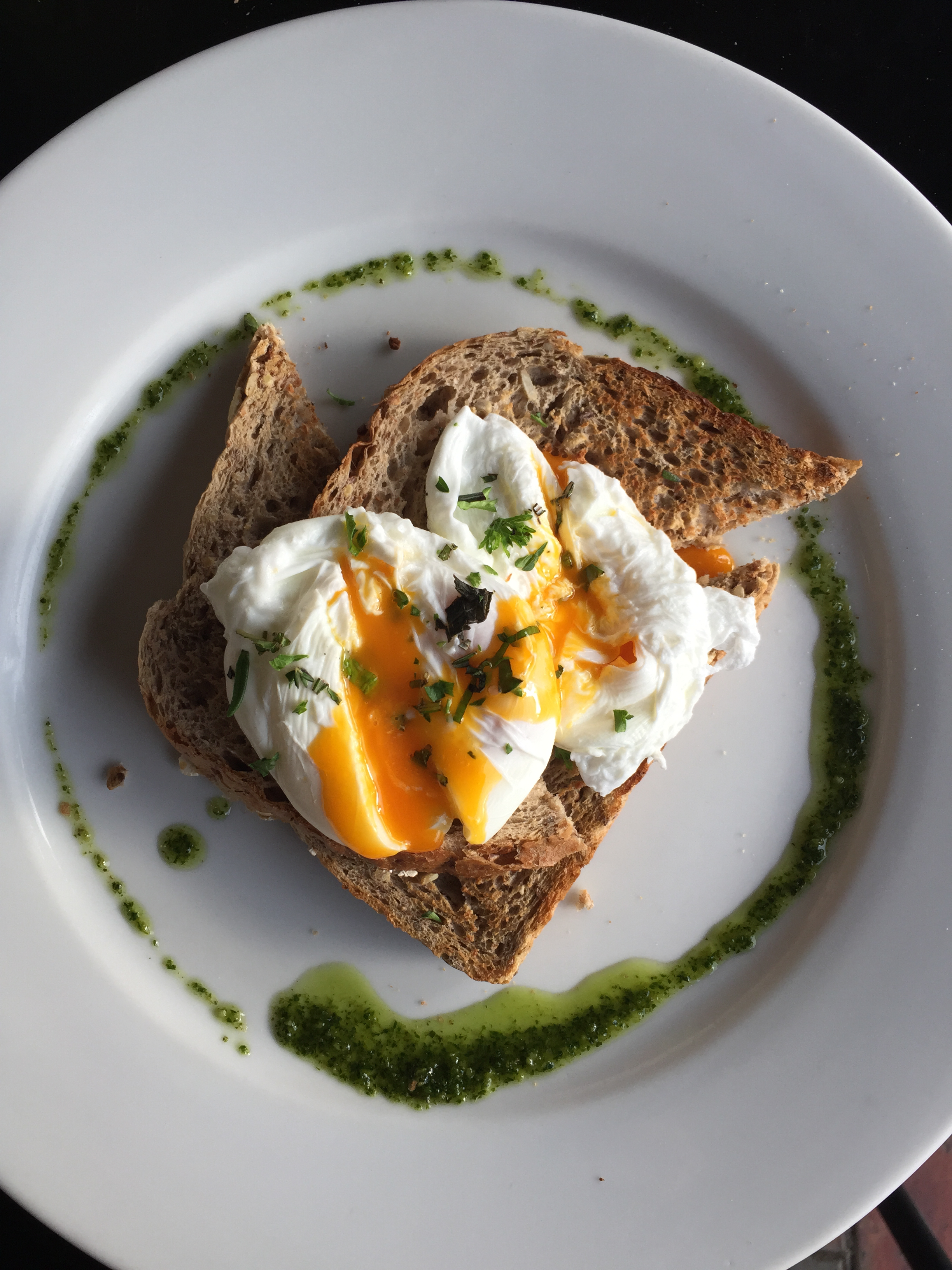 Have you ever seen a more perfect pair of poached eggs?