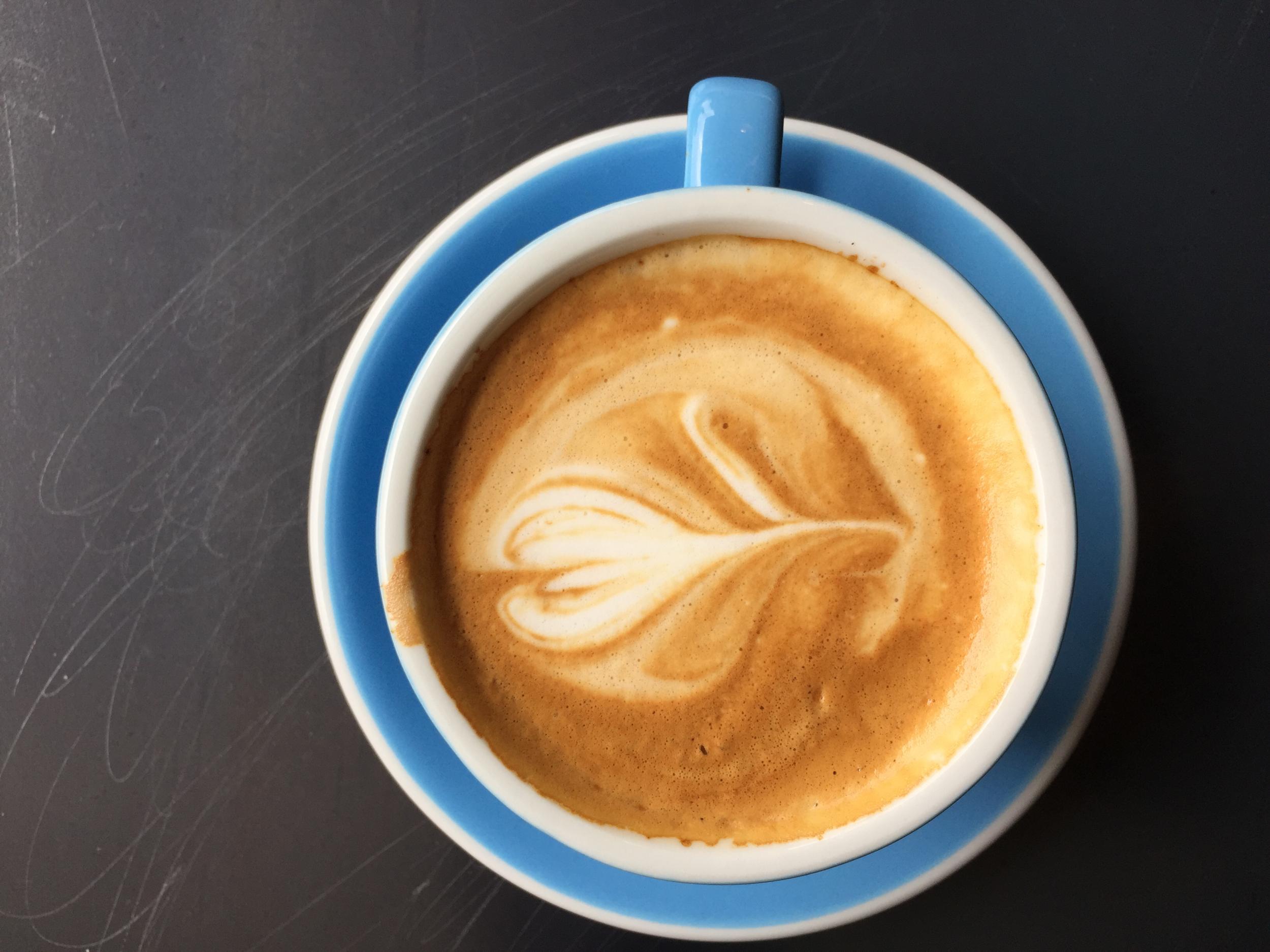 Cappuccino from Coffee Shop in Walnut Creek, CA