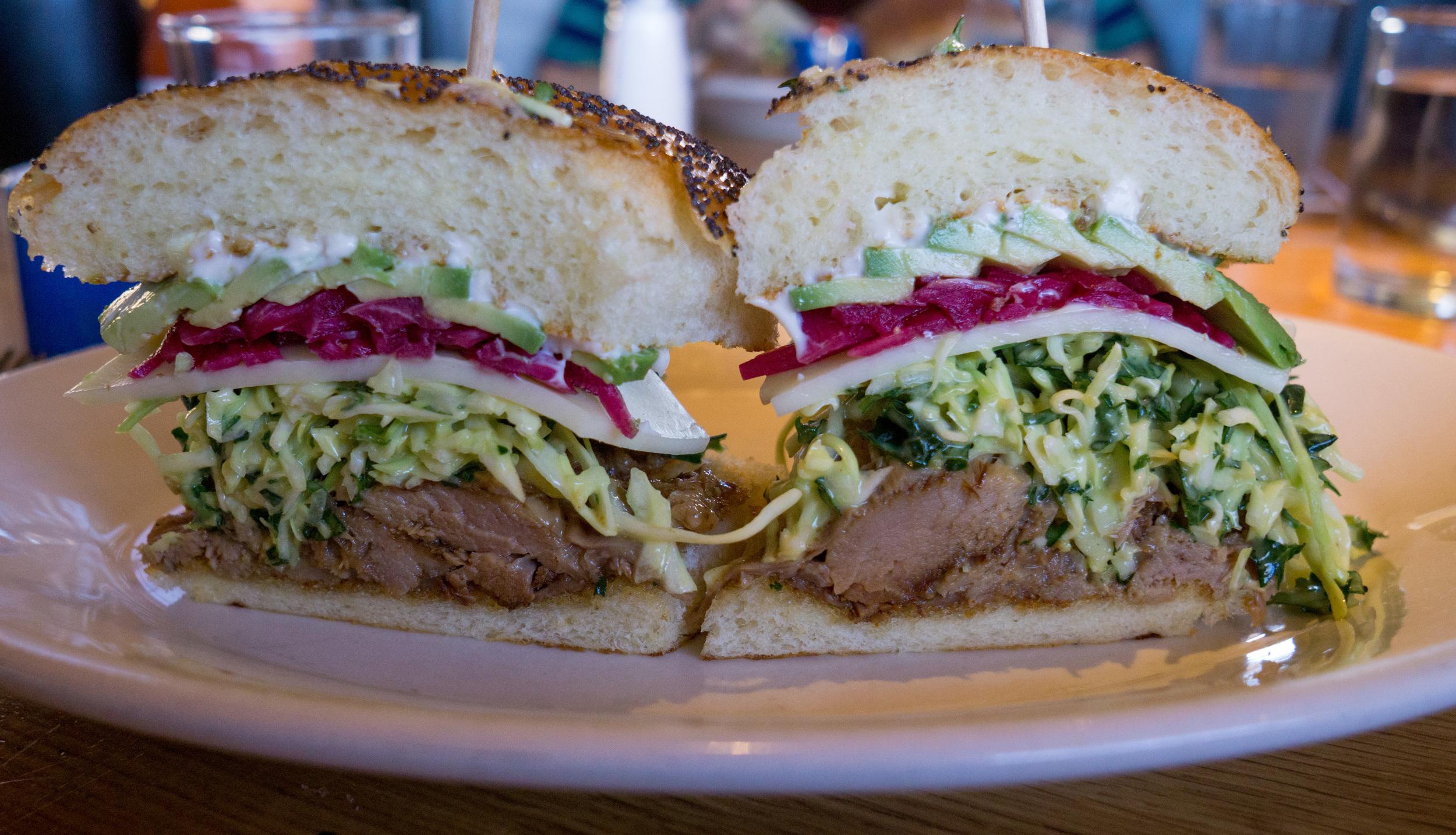 The Carnitas Sandwich is a definite winner.