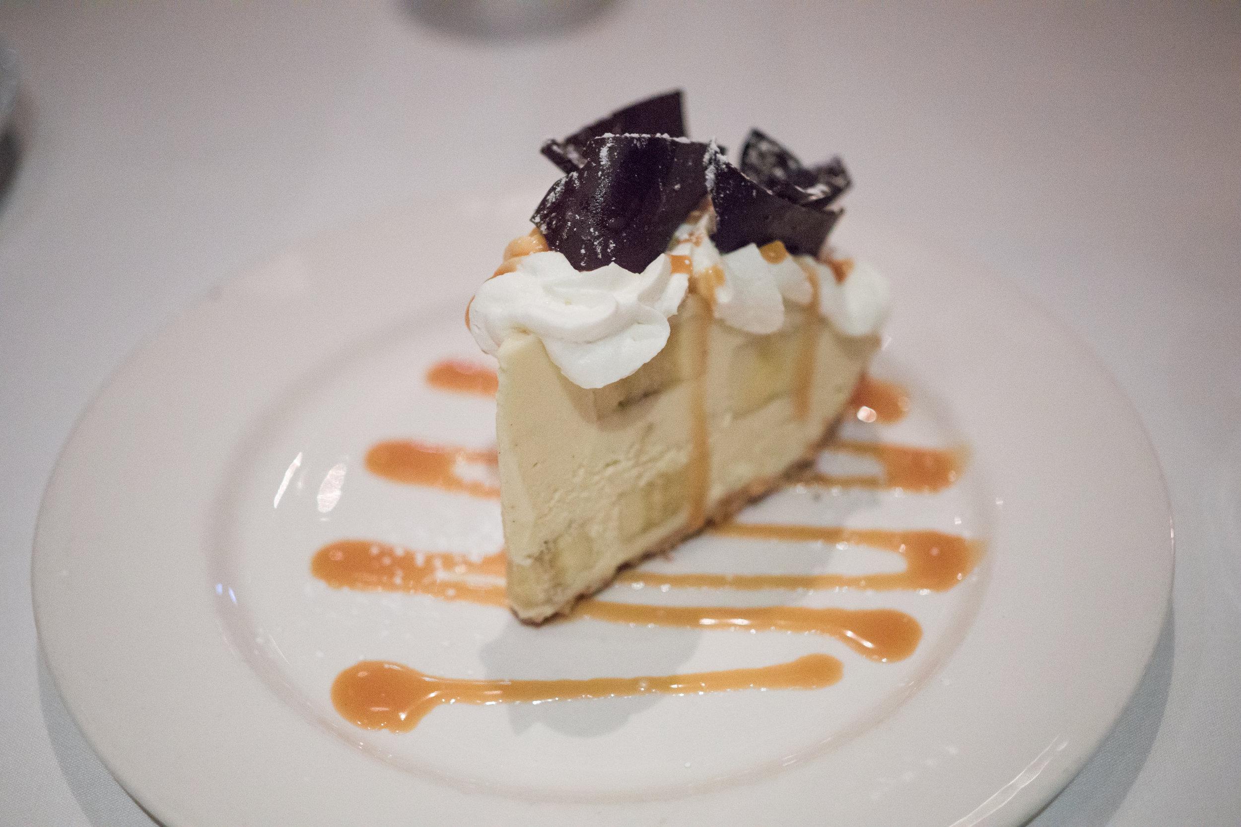 The cream of the banana cream pie is inspirational.