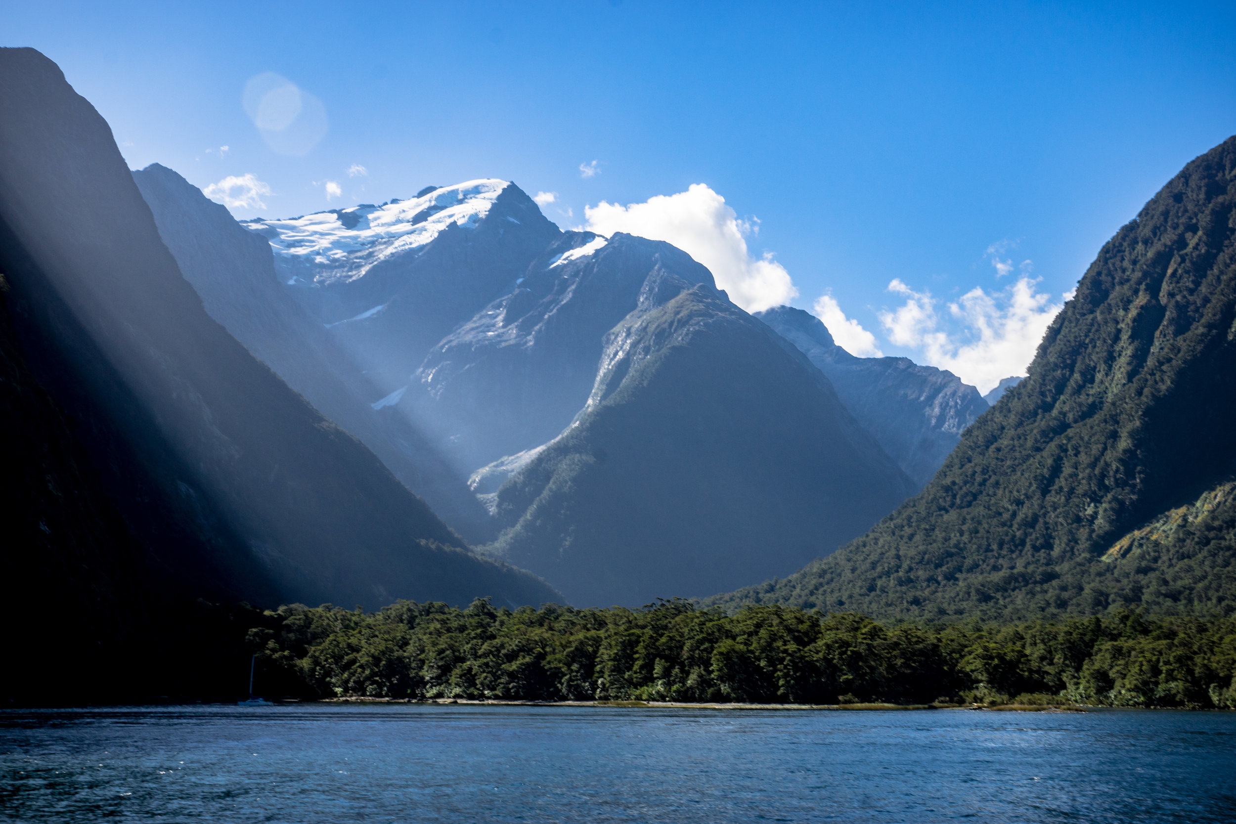 The classic photo of Milford Sound