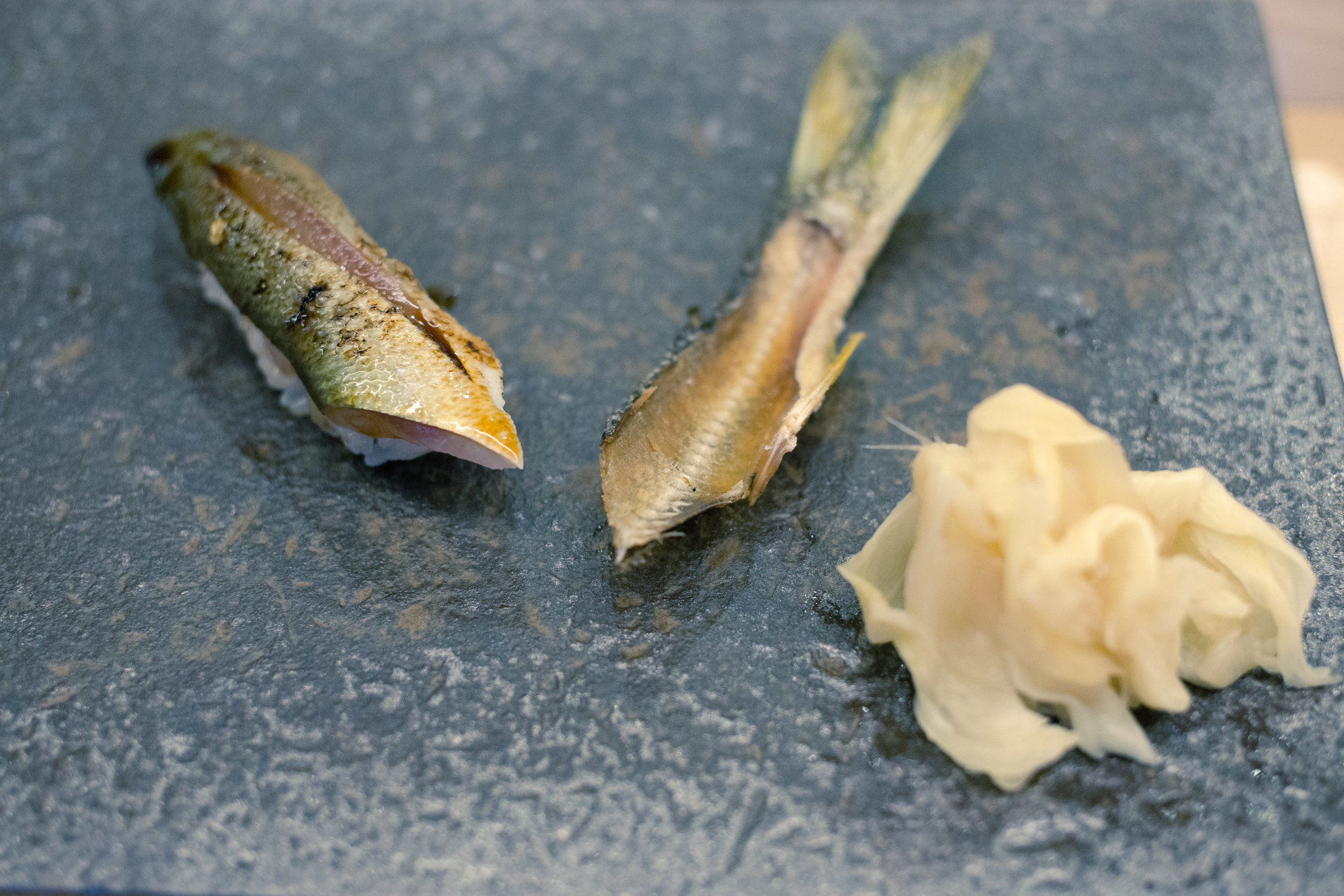 The nigiri is not your average nigiri. The amount of rice is minimized so you can truly taste the fish.