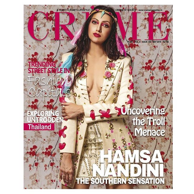 Visit profile if you missed our @creme.magazine cover shot featuring the Southern Sensation @ihamsanandini⠀ ⠀ Watch this space for the updates of the entire cover story by Photosbyshete.com.⠀ .⠀ The cover reflects Hamsa's Bohemian true self. Mixing Vintage with Modern and keeps her spirit wild & free.⠀ .⠀ Photographed by: @chaitanyashete⠀ Shoot co-ordinator: Shalin Peter⠀ Stylist: @pyumishra⠀ Assistant stylist: @lekhaarakhe⠀ MUA & Hair: @whoisesaar⠀ @smainternational⠀ Jacket: @papadontpreachbyshubhika⠀ Head band: @_mukuchyan_ ⠀ .⠀ .⠀ #Photosbyshete⁣⠀ #styled #ootdfash #fashionlovers #outfitdaily #fashionsta #trandy #styleoftheday #otd #beachbod #bikinishoot #swimsuits #fitbabe #bikinitime #bikinilover #fashioninspiration #newfashion #fashioninstagram #pinkbikini #bikiniready #swimsuitmodel #bikini #moodyportraits #portraitsvisuals #portraitstyles_gf #pursuitofportraits #portraitmodel #profile_vision #canonportrait #portrait_perfection⁣⠀ ⠀ ⠀ ⠀ ⠀ ⠀