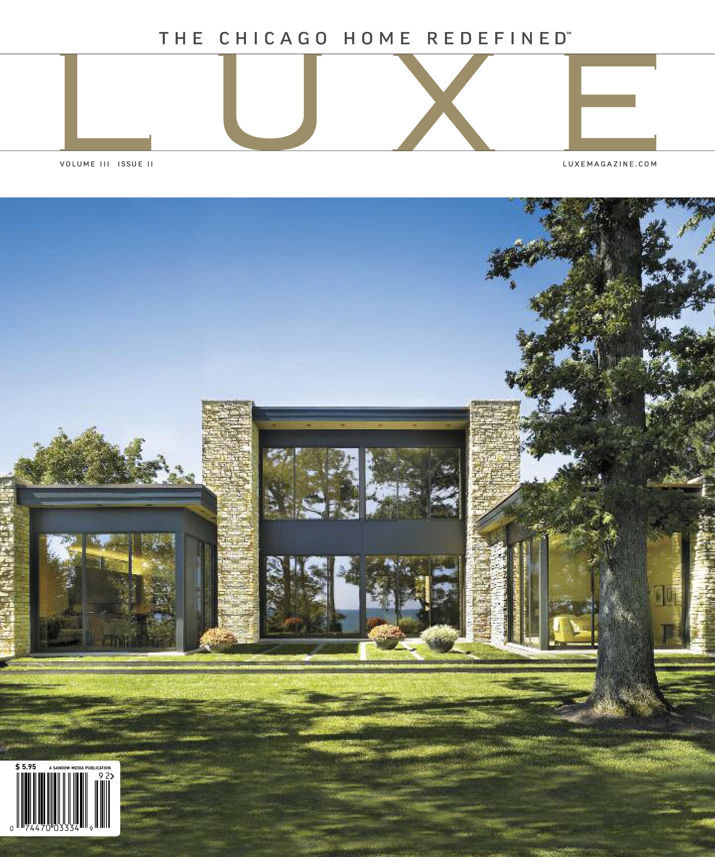 Luxe Chicago Cover - Summer 2009 - Modern Lakefront.jpg