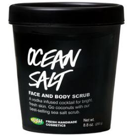 Lush Ocean Salt Face and Body Scrub , $21.95 4.2oz.