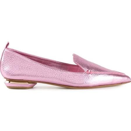Nicholas Kirkwood metallic loafer , $395