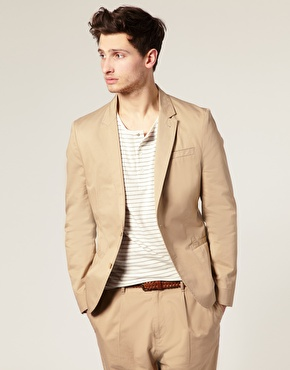 Cotton Chino Suit