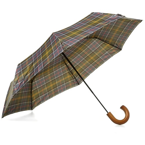 Barbour Tartan Plaid Umbrella , $39