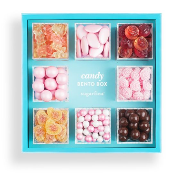 Show mom how sweet she is with this adorable bento box from  Sugarfina , including champagne bears. $65