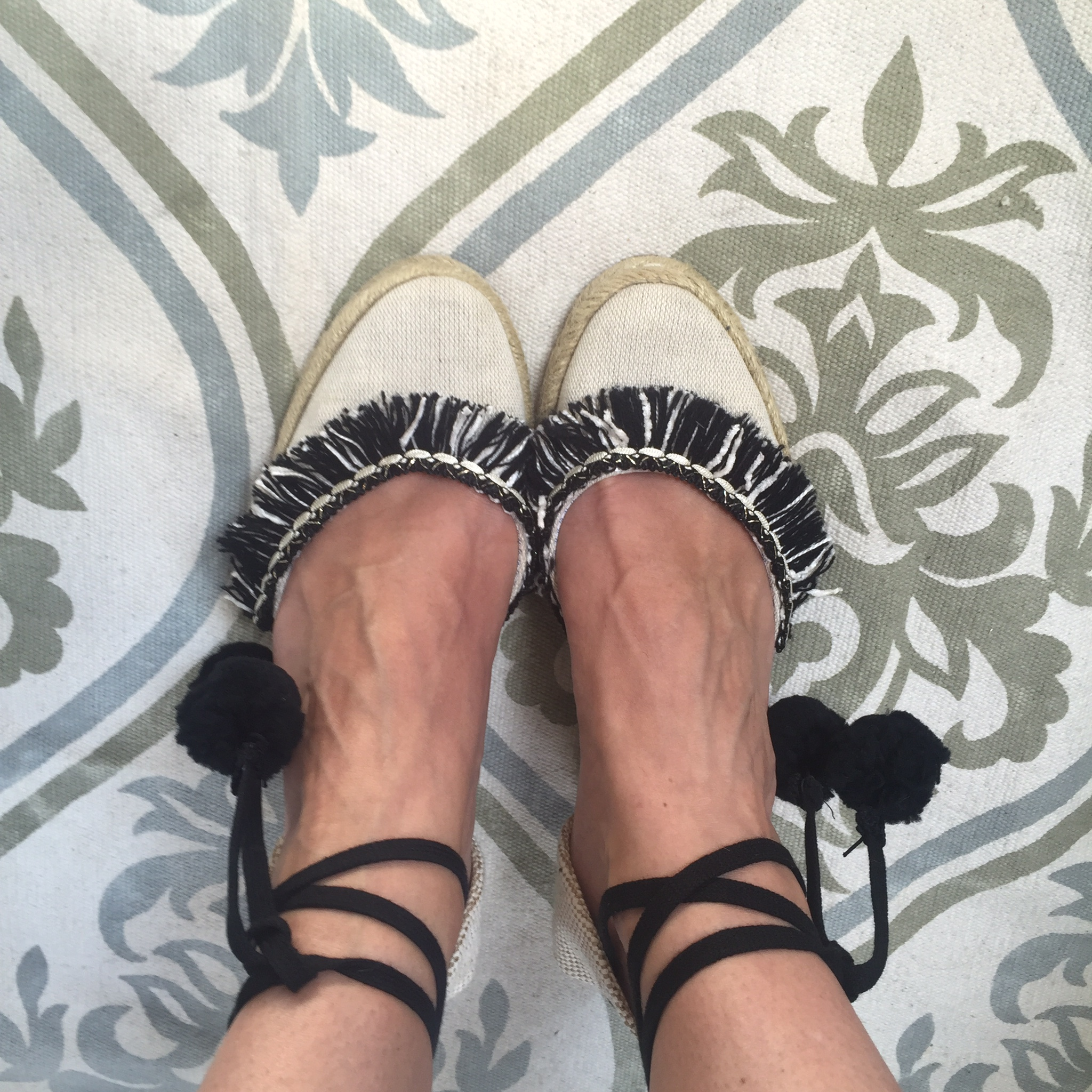 Voila! New shoes for the season