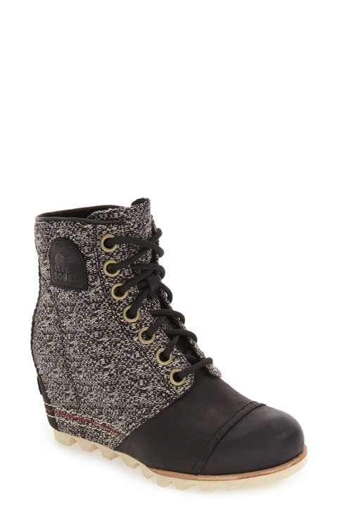 Sorel '1964 Premium Canvas' Waterproof Wedge Bootie $229.95