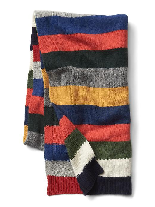 Gap Stripe Wool Scarf, $44.95