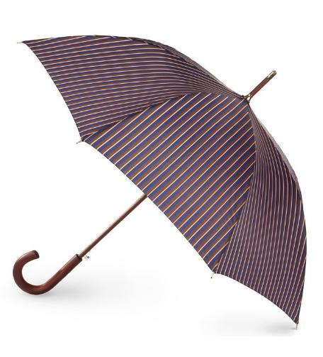 Totes Wooden Handle Umbrella