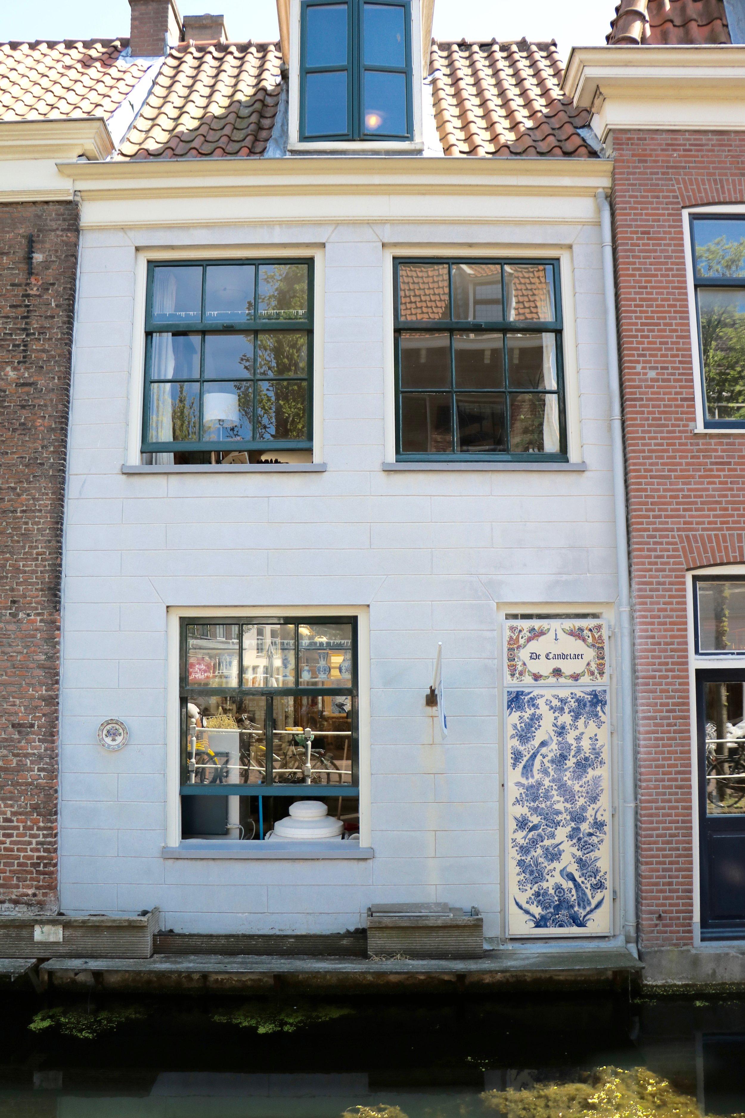 Delftware-shop
