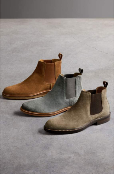 STYLE STEAL:  Urban Outfitter Suede Chelsea Boot, $89