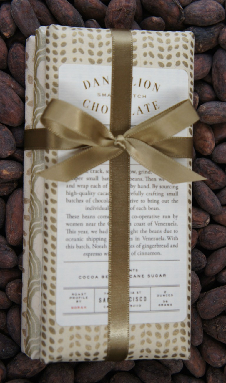 Dandelion Chocolate Sampler $20