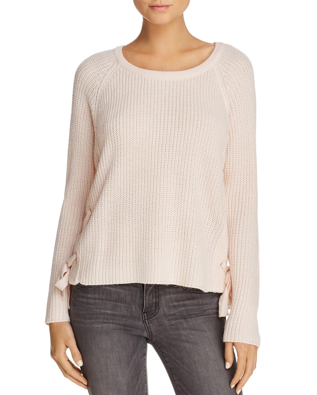 AQUA Side Lace Sweater $35.10 (sale)