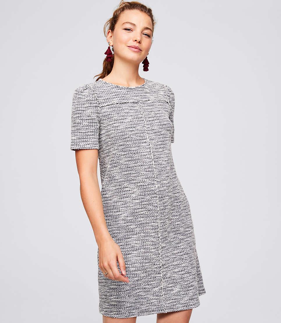 Fringe Tweed Dress $70 (sale)