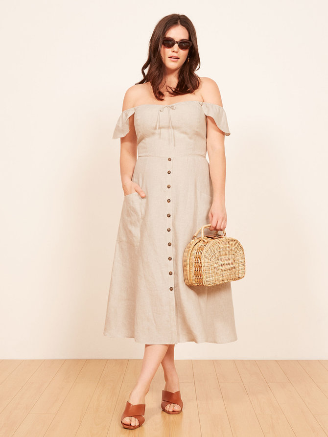 Reformation Francis dress, $218