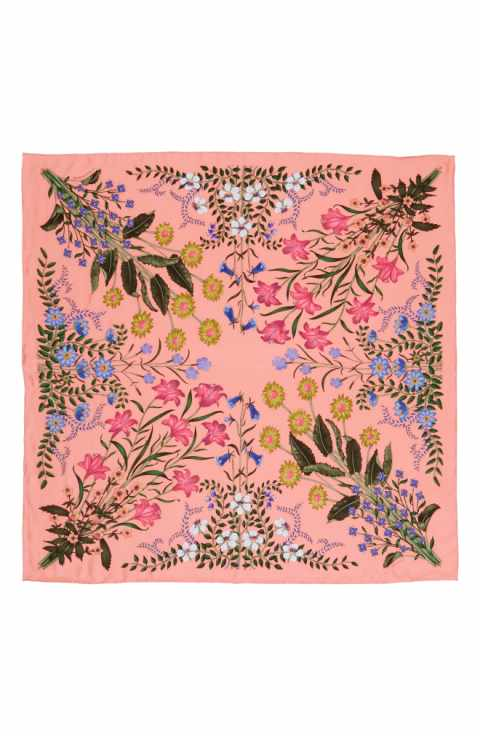 New Flora Gucci Scarf $510