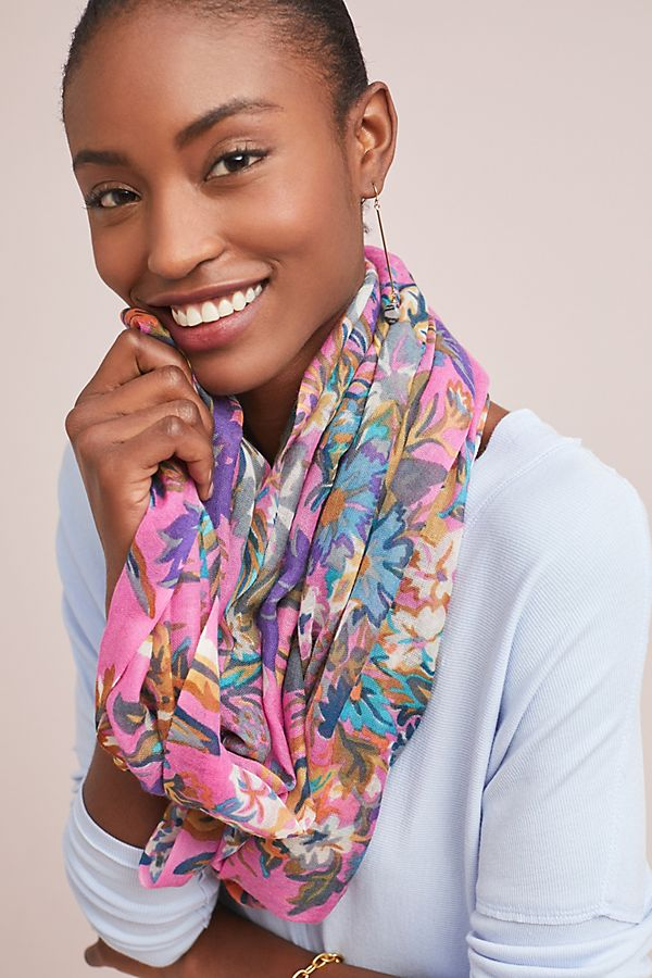 Wildflower Infinity Scarf $58