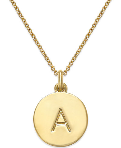Kate Spade Initial Necklace, $58