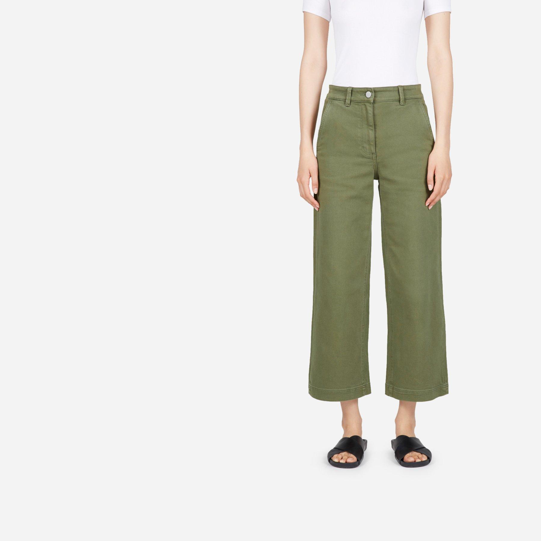 Everlane Wide Leg Crop $68