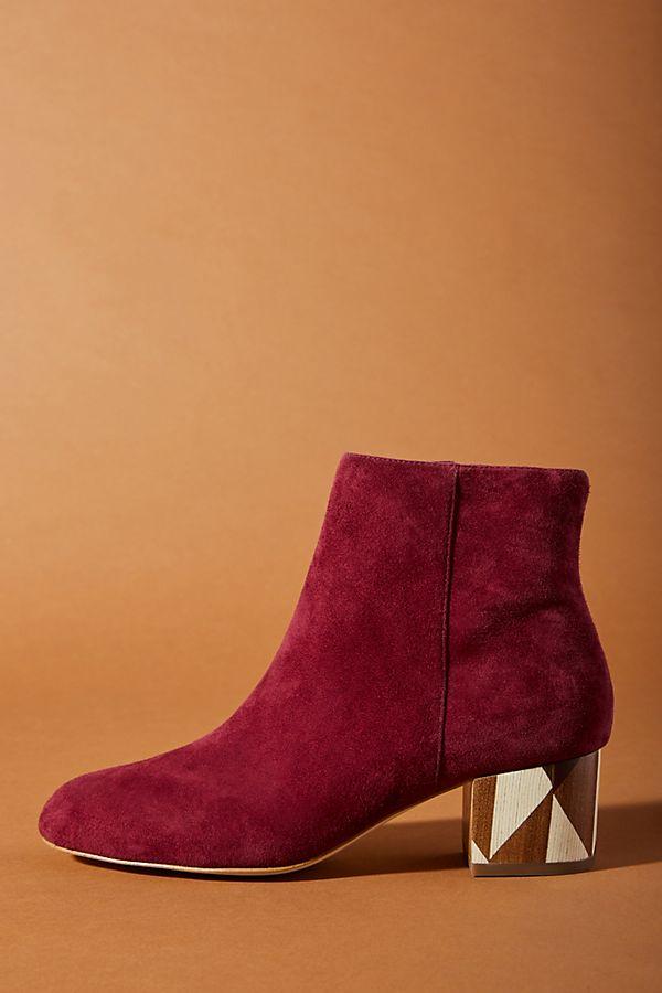 Anthropologie Statement Heel Boots, $158