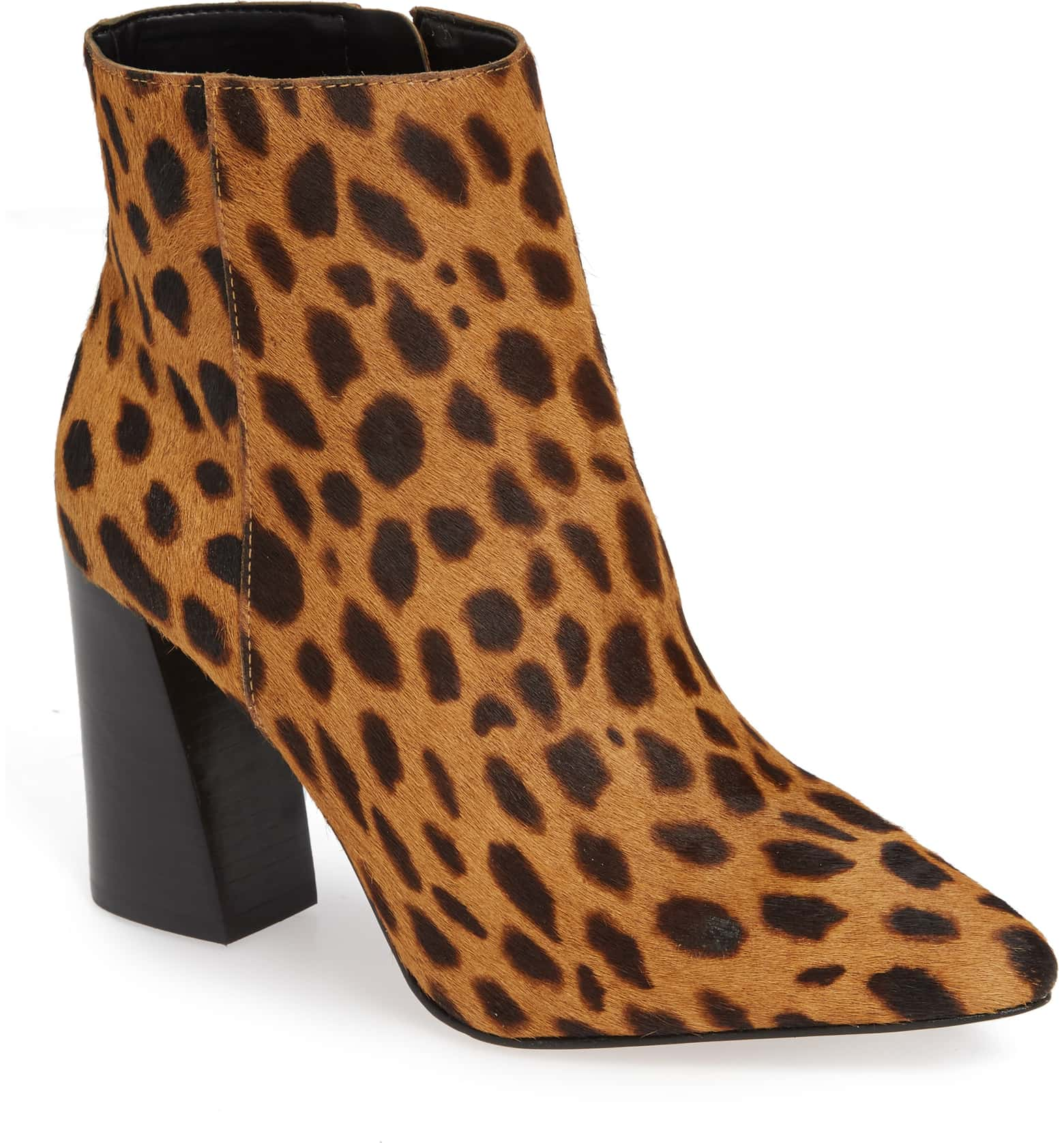 Thelmin Genuine Calf Hair Bootie $139.95